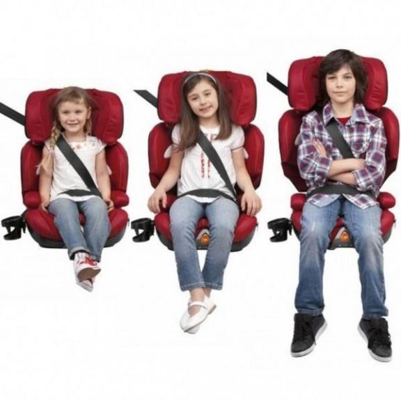 Genitori attenti, troppi bambini in auto senza seggiolino