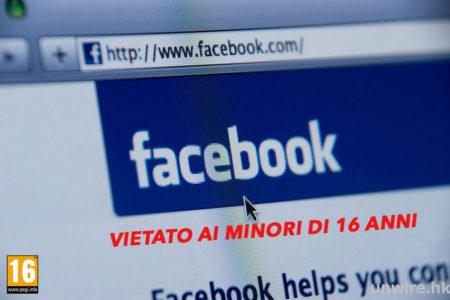 """Facebook, """"vietata iscrizione ai minori di 16 anni"""". Lo vuole Bruxelles"""