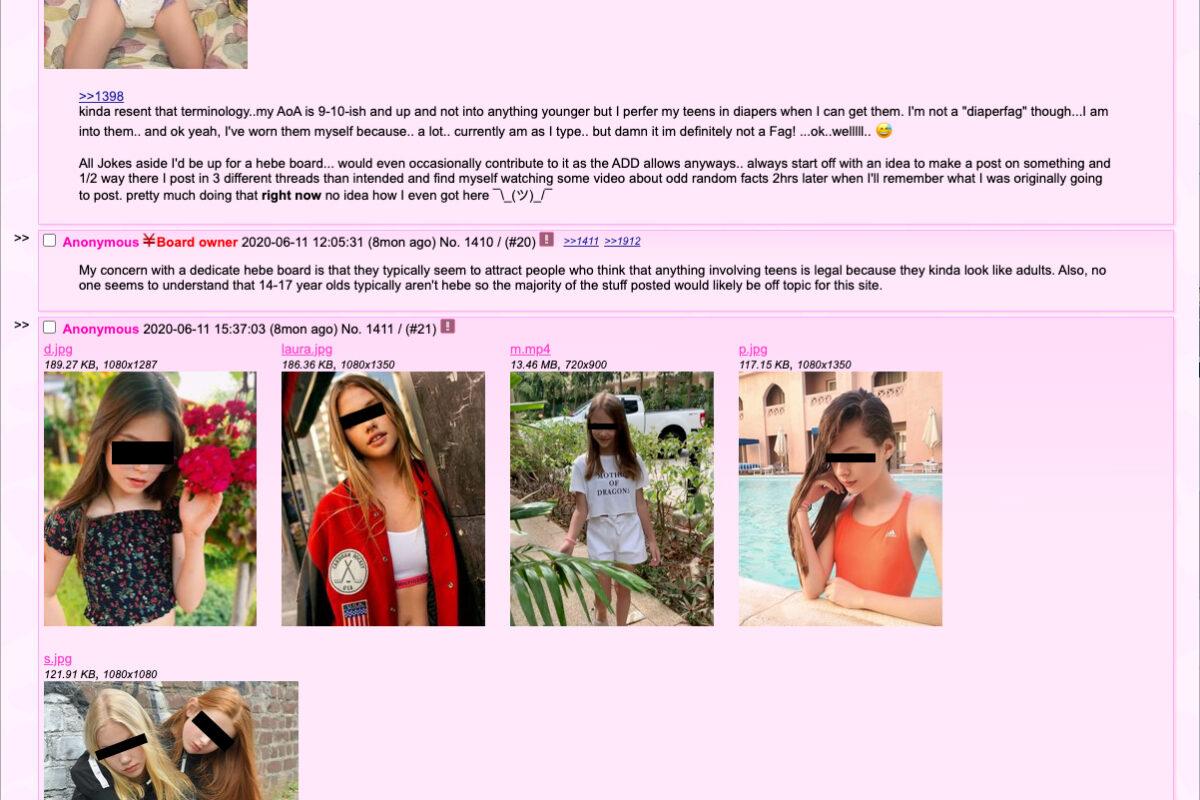 Salvano le foto dei vostri figli e le caricano su siti per maniaci